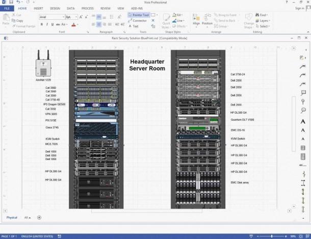 Excel Rack Diagram Template