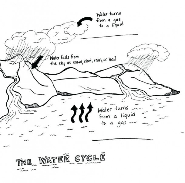 Water Cycle Worksheet 5th Grade Best Of Water Cycle Diagram Blank