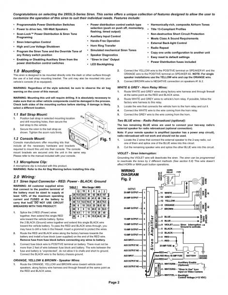 Fig  1 1 0 Mounting, 0 Wiring, Wiring Diagram