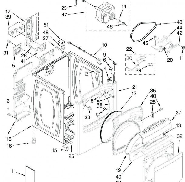 Wed5800swo Whirlpool Dryer Wiring Diagram