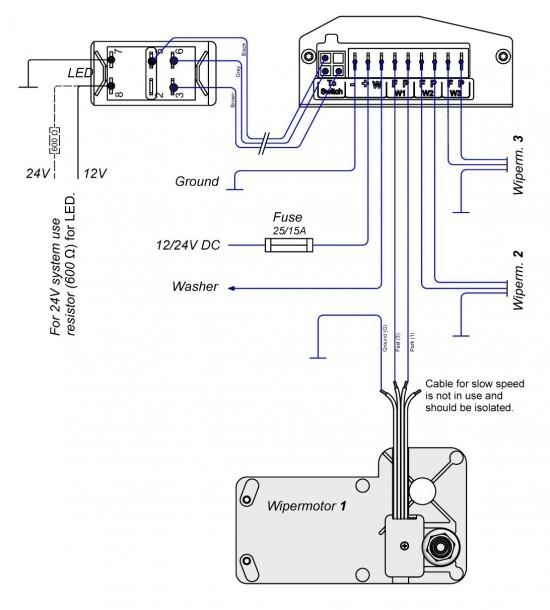 Ford Wiper Motor Wiring Diagram
