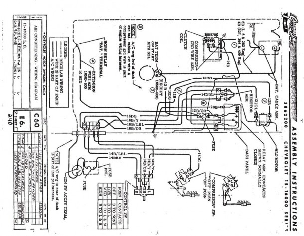 1963 Impala Electrical Diagram