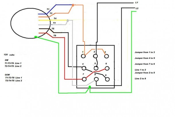 Reversing Drum Switch Wiring Diagram