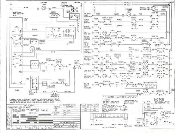Wiring Schematic For Whirlpool Washing Machine