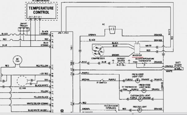 Ge Refrigerator Model 25 Schematic