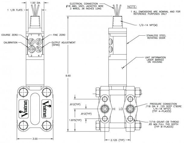Pressure Transmitter Wiring Diagram