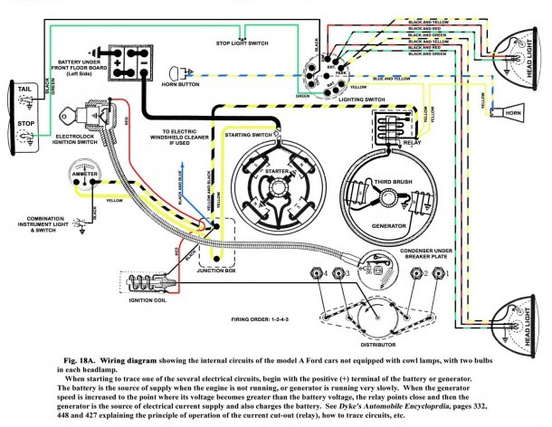 Ford Model A 12 Volt Wiring Diagram