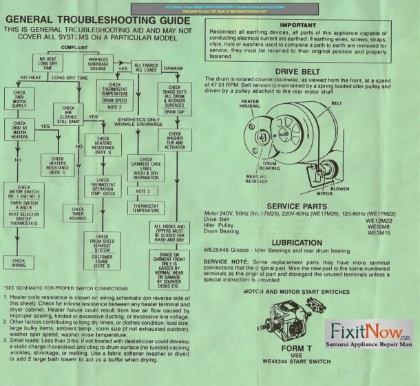 Ge Wiring Diagrams