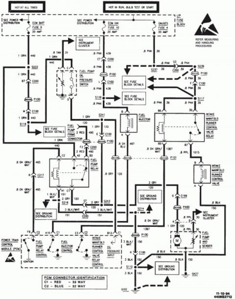 1999 Chevy S10 Wiring Harness Diagram