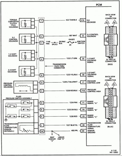 S10 Wiring Harness Diagram