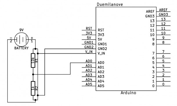 Arduino Backup Power Supply