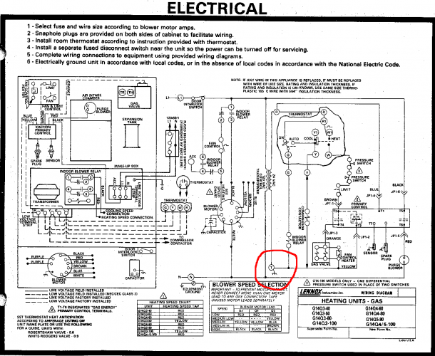 Wiring Diagram For Thermostat