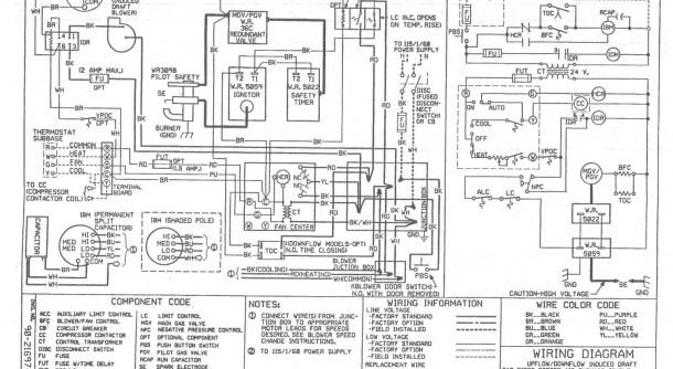 York Hvac Wiring Diagram