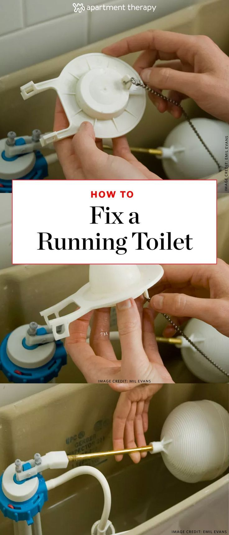 How To Fix a Running Toilet: Common Causes & Easy