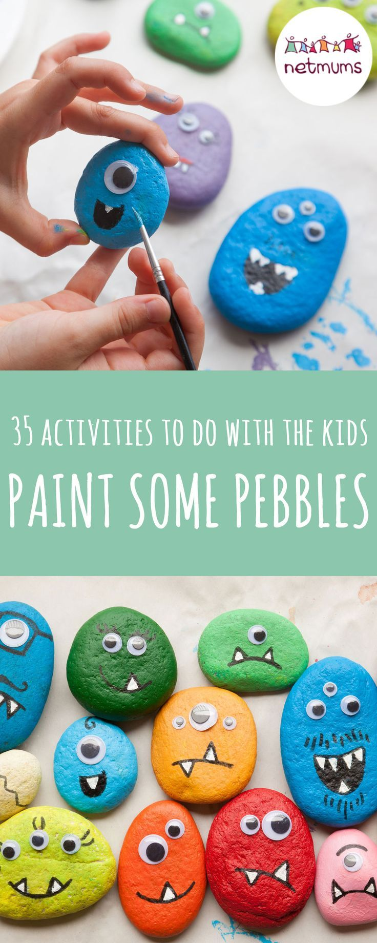 100 activities if you're stuck indoors with kids