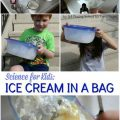 Science for Kids: Ice Cream in a Bag – Pre-K Pages