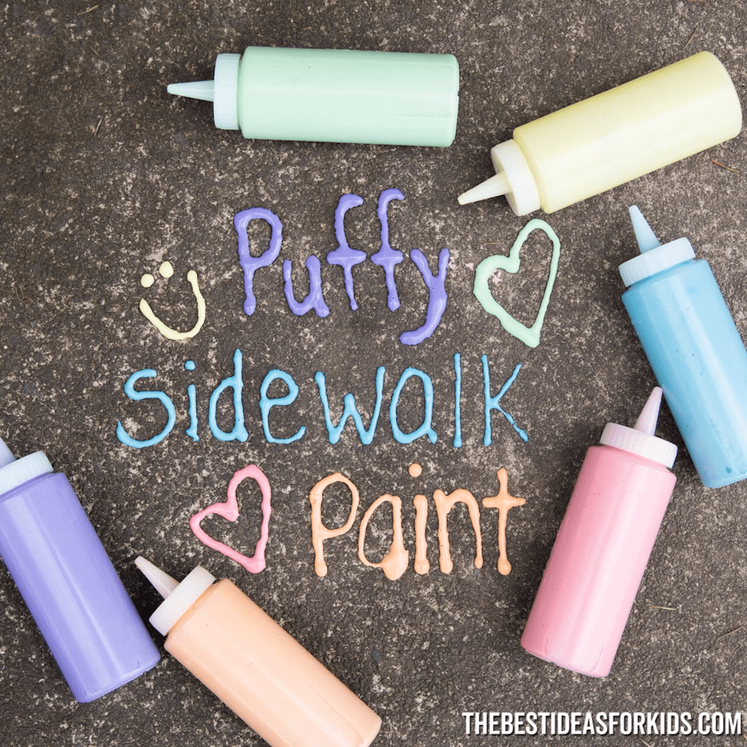Puffy Sidewalk Paint