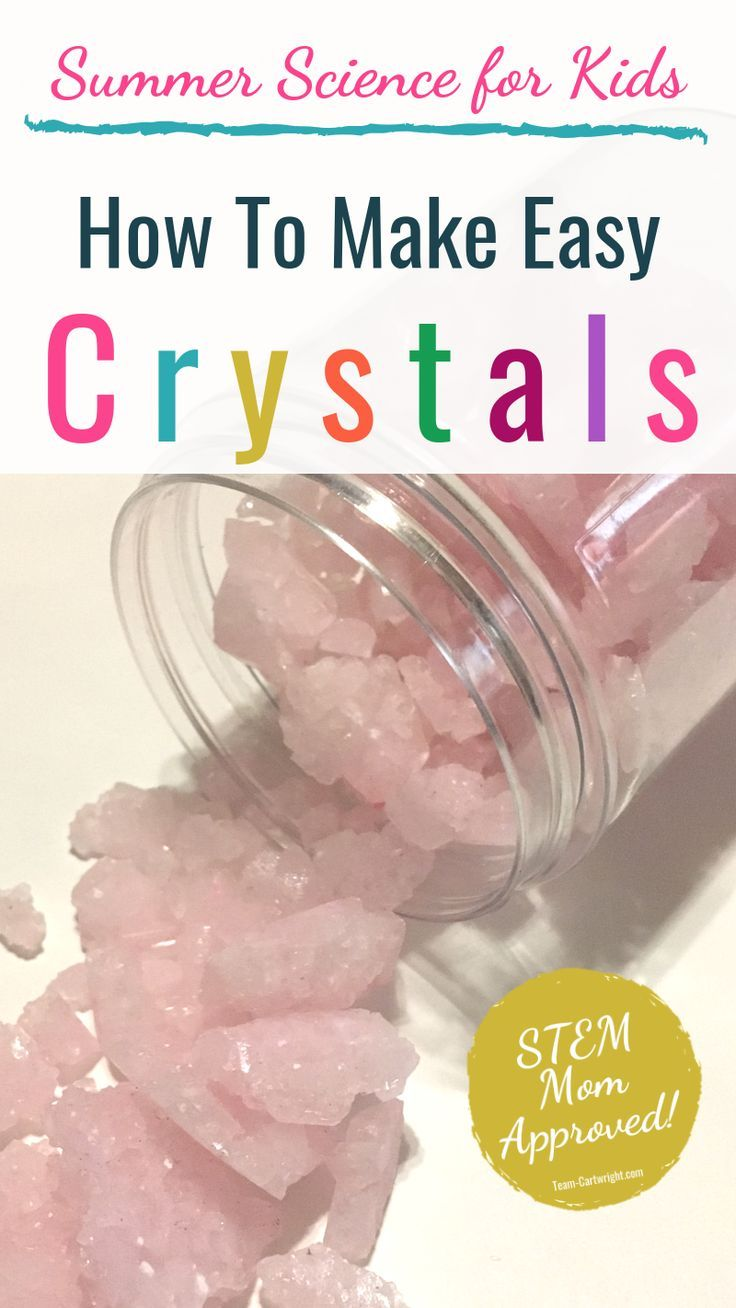 Growing Crystals for Kids: Create Your Own Jewels! - Team