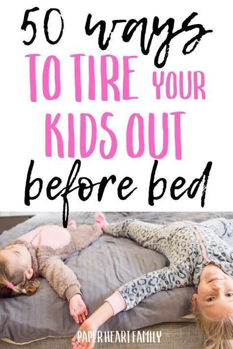 Inside Activities For High Energy Kids- 50 Ways To Burn Off Energy |